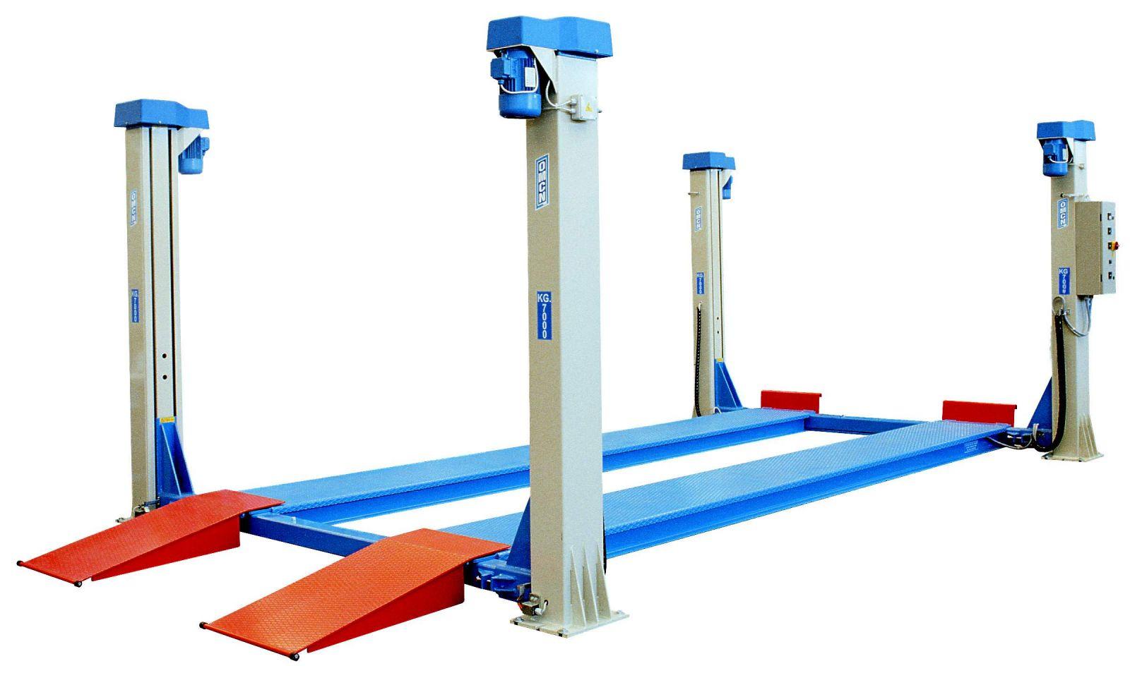 Vendita ponti 4 colonne omcn assistenza ponti 4 colonne for Ponte adue colonne usato